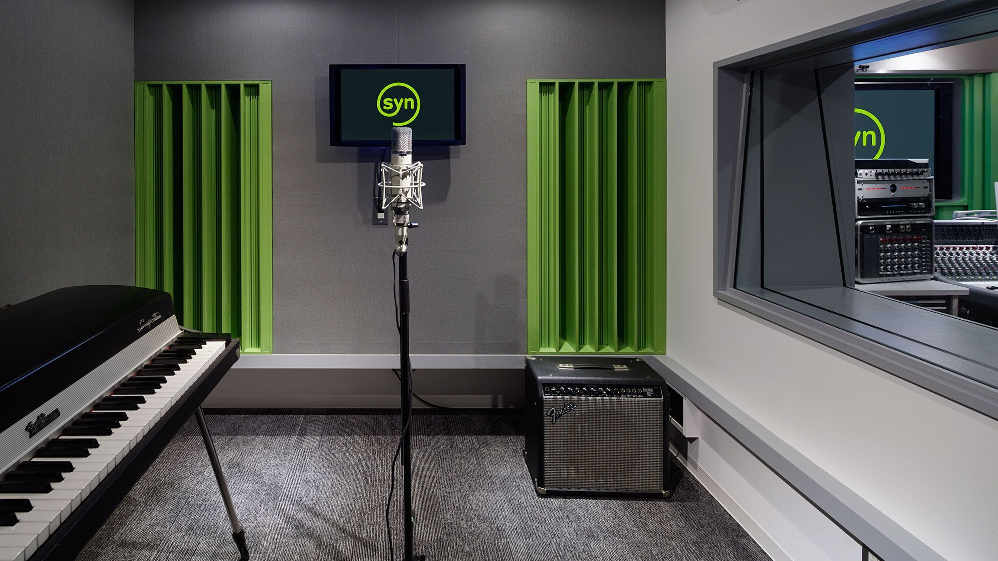 Syn Studios 4 Vocal Booth